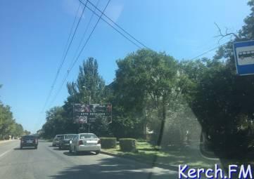 В Керчи столкнулись «ВАЗ» и иномарка