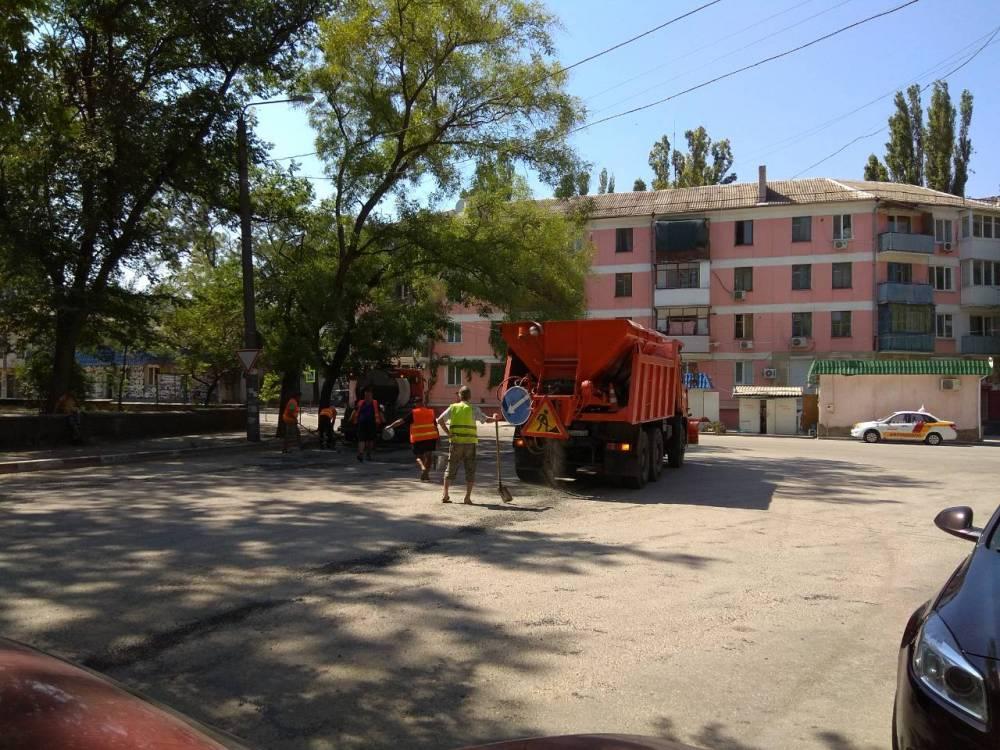 Ультрасовременный подход к ремонту дорог в Феодосии