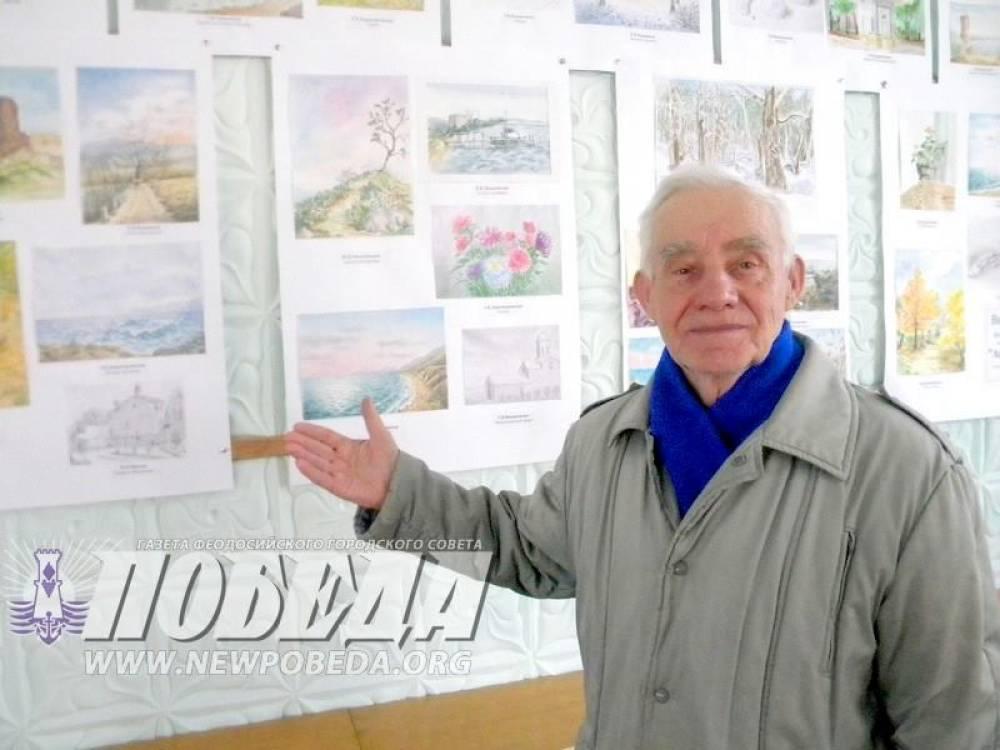 Выставка Владимира Киркевича. Акварель.