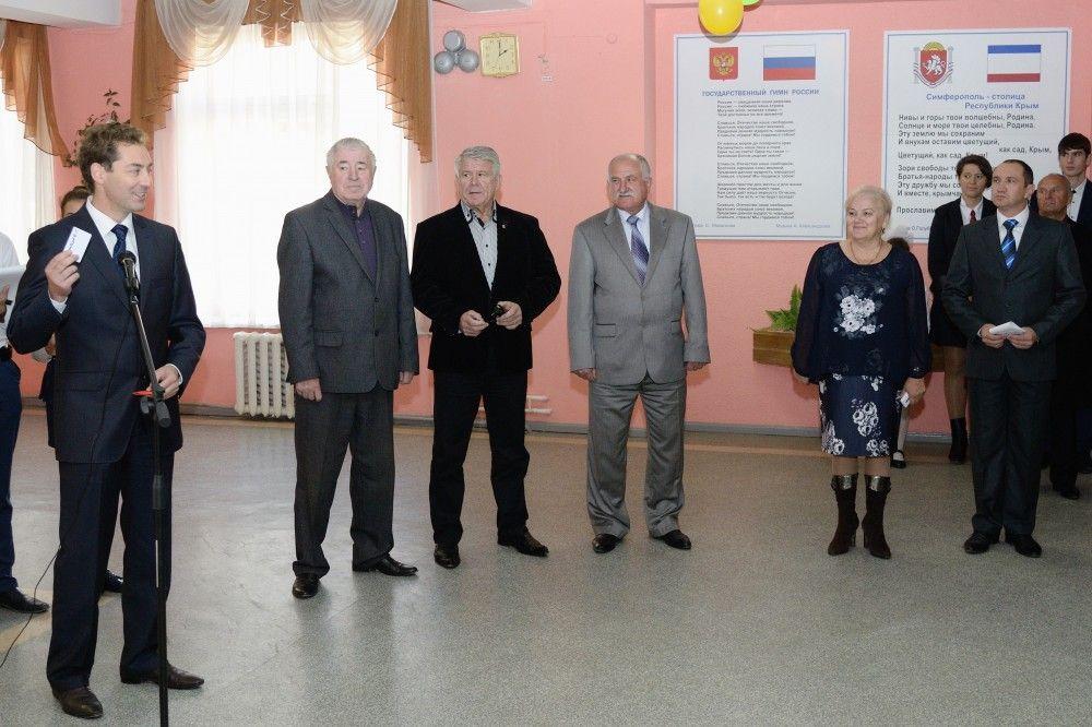 В Феодосии появилась первая школа с пропускной системой