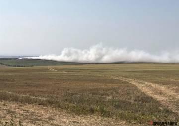 Жители сел у Бахчисарая задыхаются из-за дыма