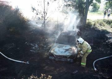 В ДТП под Бахчисараем сгорело авто