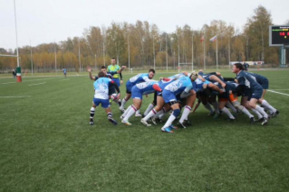 Феодосийская команда регби в четверке лучших Российской Федерации (ФОТО+ОТЧЁТ)
