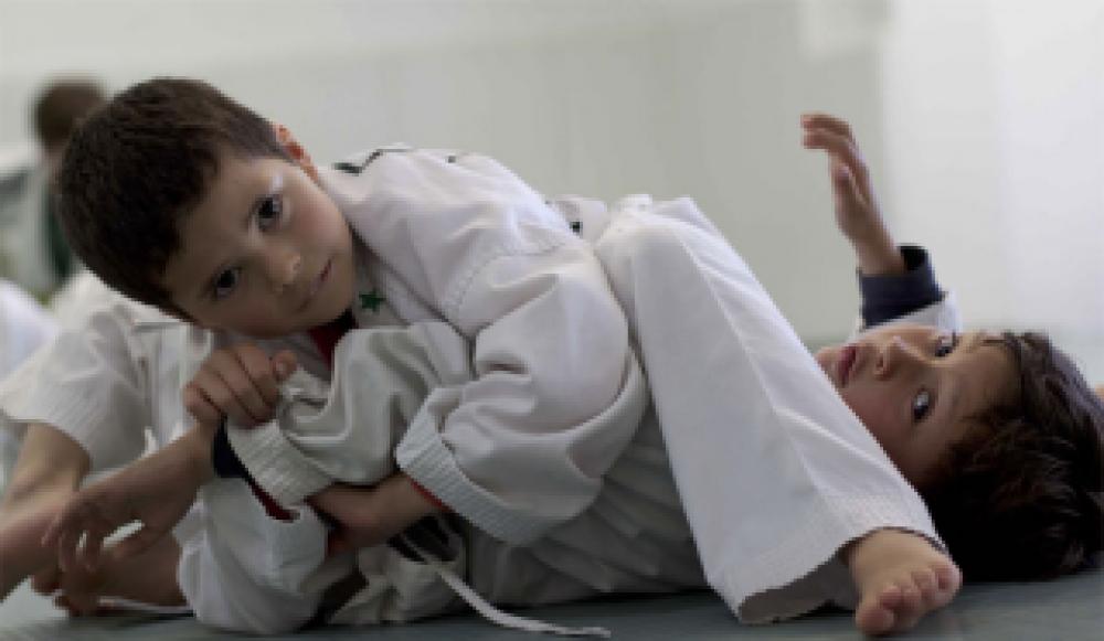 В Феодосии состоятся отрытые уроки по дзюдо, среди самых юных – 3 летних – дзюдоистов