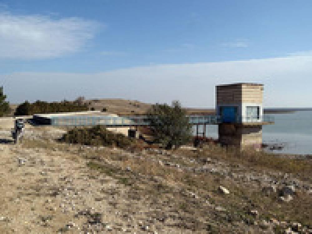 В Феодосии ведется закачка воды во Фронтовое водохранилище