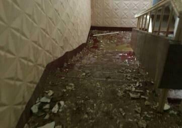 Последствия ливня: 19 школа в Феодосии