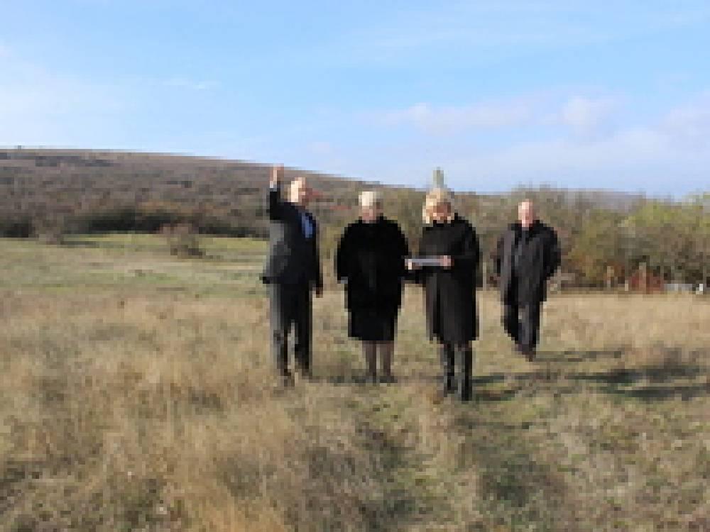 В селе Виноградное готовят площадку под строительство ФАПа