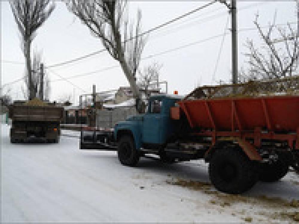 Феодосийские коммунальщики готовы к зимнему периоду