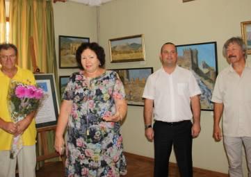 Итоговой выставкой завершается «Киммерийский пленэр» в Феодосии