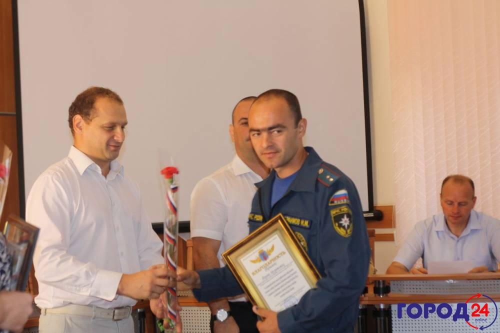 Феодосийские власти отблагодарили МЧС