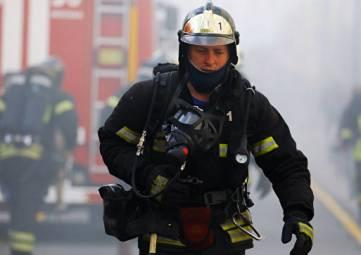 Возле Феодосии сгорели два гаража
