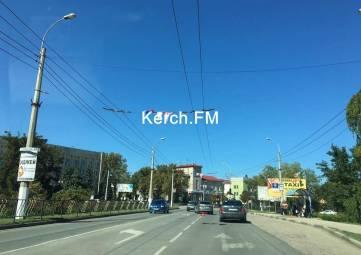 На Адмиралтейском проезде в Керчи произошла авария