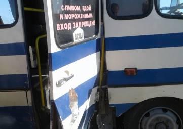 На крымской трассе водитель автобуса отвлекся и устроил ДТП, - ФОТОФАКТ