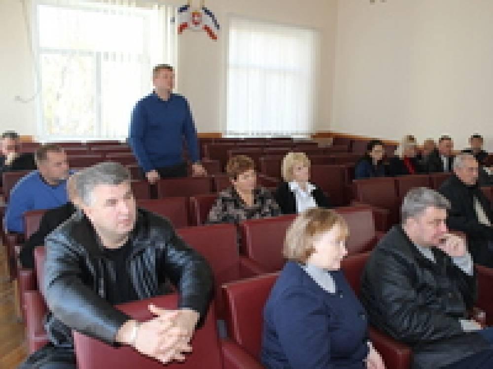 Состоялось совещание по завершению ремонта школьных пищеблоков