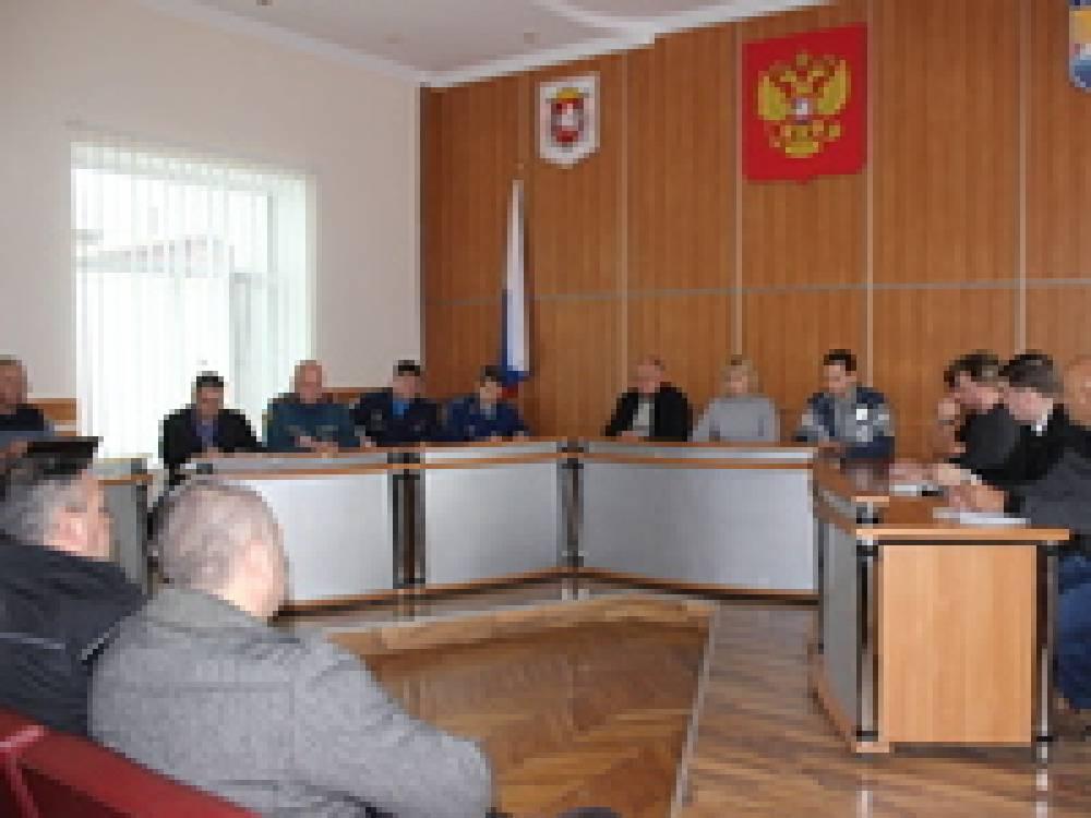 В Феодосии работает комиссия по ЧС