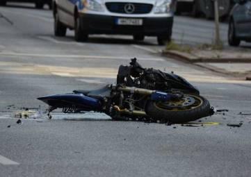 Мотоциклист не доехал до выезда из Севастополя