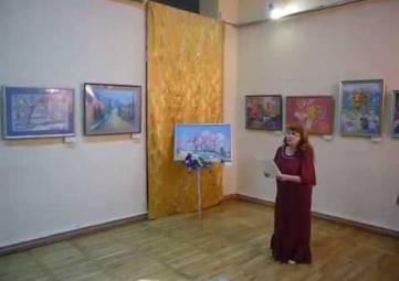 В Феодосии открылась выставка Ларисы Сергеевой