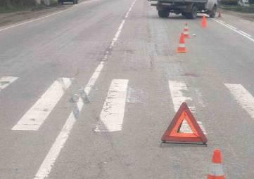 Жуткое ДТП: машина сбила мать и двух маленьких детей