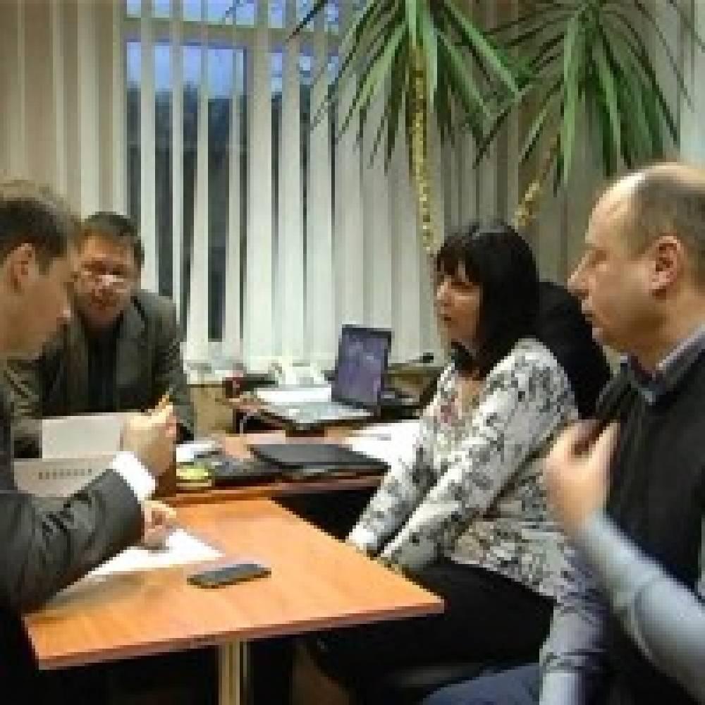 Рабочее совещание в Феодосийском РЭС
