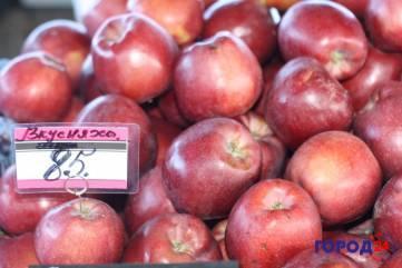 Оранжевое «сердечное» яблоко!
