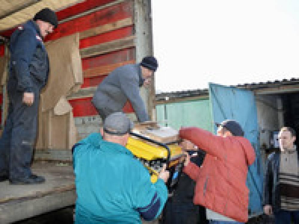В Феодосию прибыла очередная помощь от побратимов