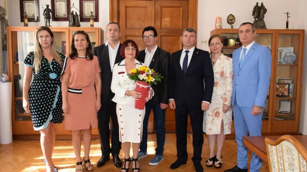 Супруги Эль из Германии выразили благодарность главе администрации Ялты за теплый прием