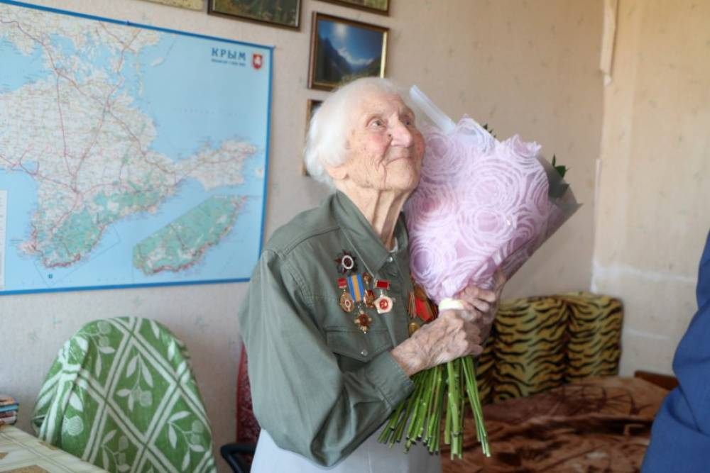 Ветеран Великой Отечественной войны Елизавета Рожкова отмечает столетний юбилей