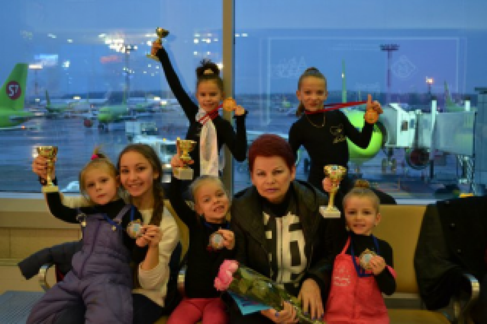 Феодосийские гимнастки покоряют Москву