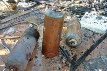 Пожар чуть не спровоцировал взрыв