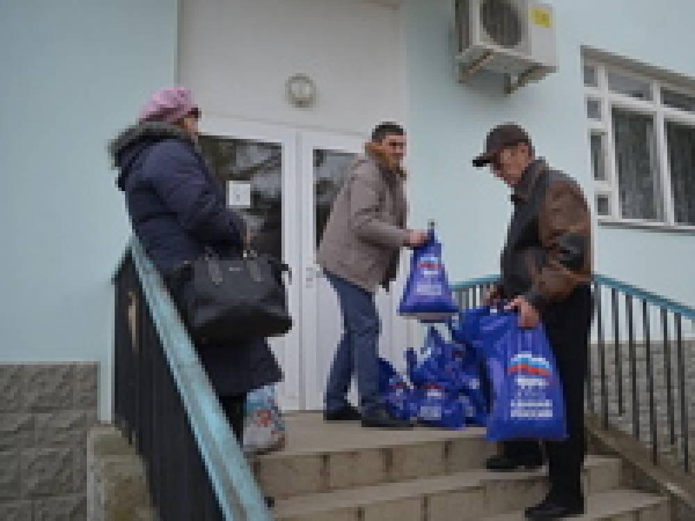 Гуманитарную помощь – по квартирам