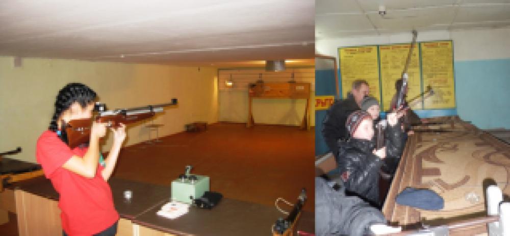 В Феодосии состоялись соревнования по стрельбе из пневматической винтовки