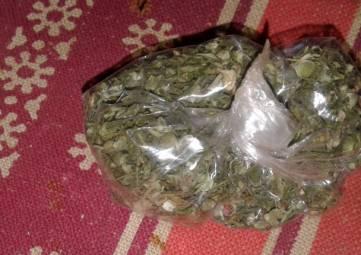 Изъяли марихуану
