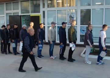 Состоялась первая отправка призывников к местам службы в рамках осеннего призыва на военную службу граждан Российской Федерации