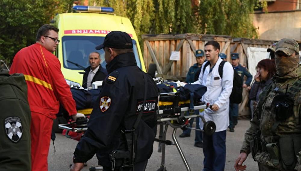 Студентка медколледжа рассказала о помощи жертвам в Керчи