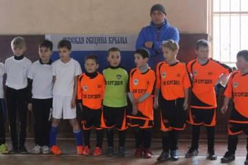 В Феодосии прошли соревнования по мини футболу