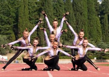 В Алуште тренируется сборная России по эстетической гимнастике