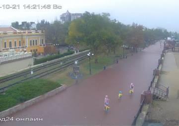 В Феодосии идет дождь