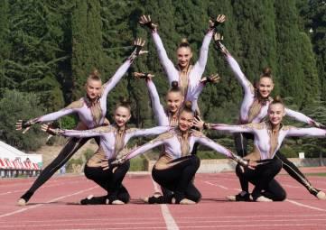 Сборная России по эстетической гимнастике в Алуште готовится к этапам Кубка мира