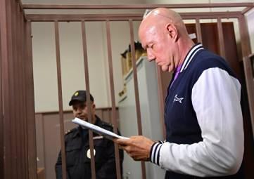 Нахлупин обжаловал решение суда о своем аресте