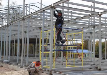 В Симферополе продолжается возведение 5 модульных детских садов