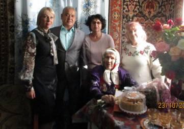 Жительница города Джанкоя, участник Великой Отечественной войны Прасковья Давыдовна Краевская  отметила 90-летний юбилей