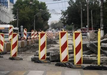 На днях в Симферополе откроют для проезда две дополнительные полосы на улице Севастопольская