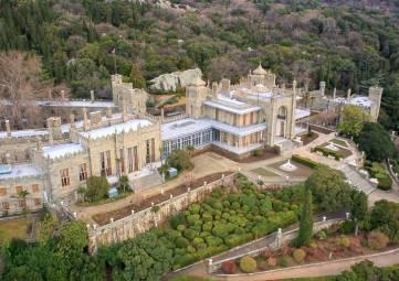 ТОП самых популярных крымских дворцов