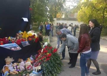 Бойню в Керчи признали трагедией национального масштаба