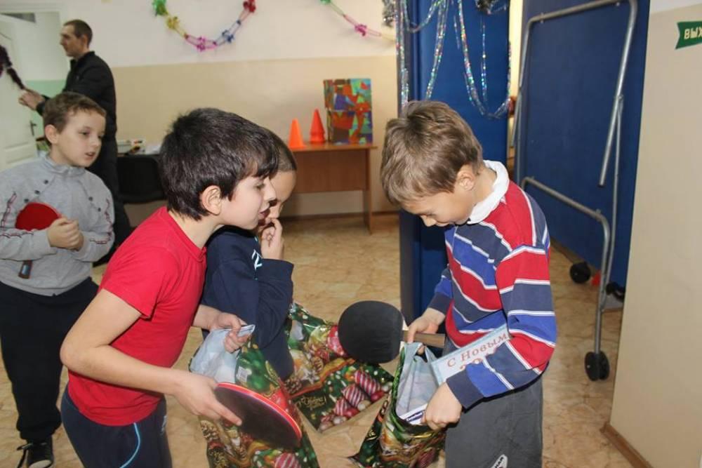 В Феодосии состоялся Новогодний теннисный турнир (ФОТО)