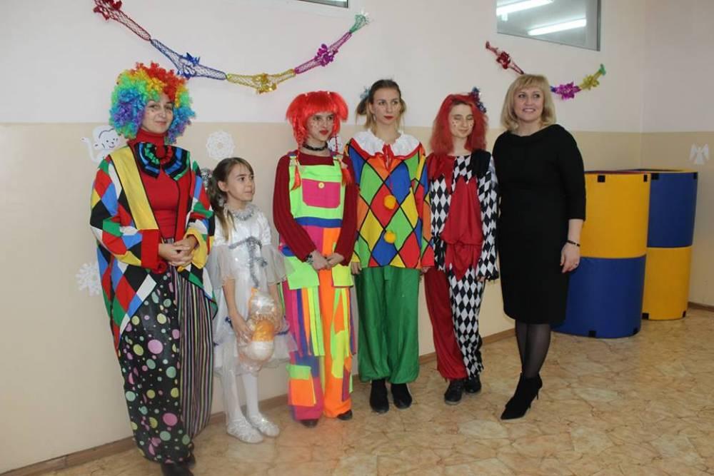 В Феодосии состоялся Новогодний утренник для детей-инвалидов