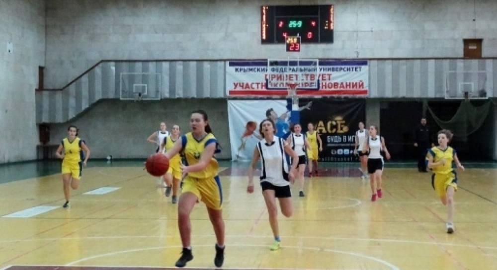 Симферопольский «Орлан» стал лидером чемпионата Крыма по баскетболу среди женщин (ФОТО)