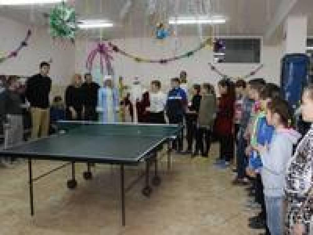 Новогодний турнир по теннису