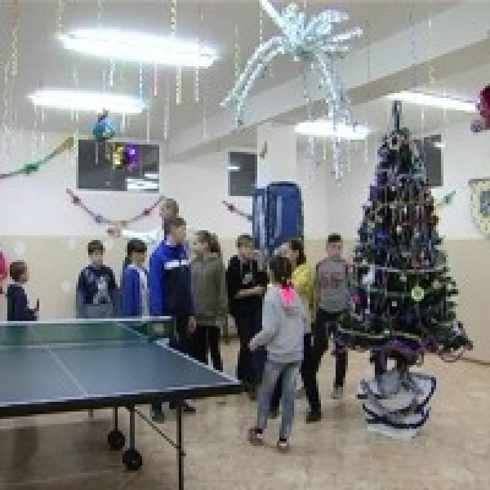 В клубе «Секрет» состоялся новогодний теннисный турнир