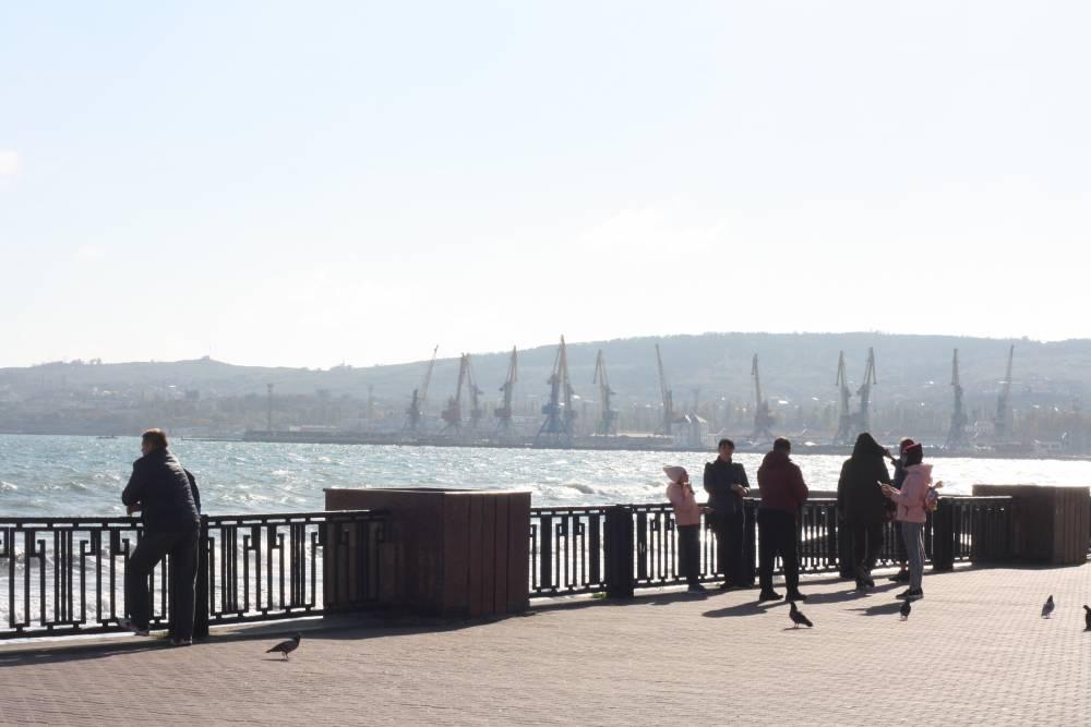 Осенние прогулки по набережной